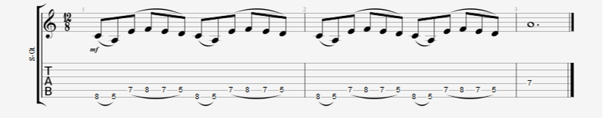 Pinky Heavy Legato Guitar Exercise