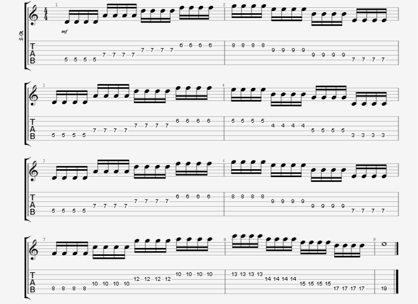 speed tremolo picking string changing guitar exercise