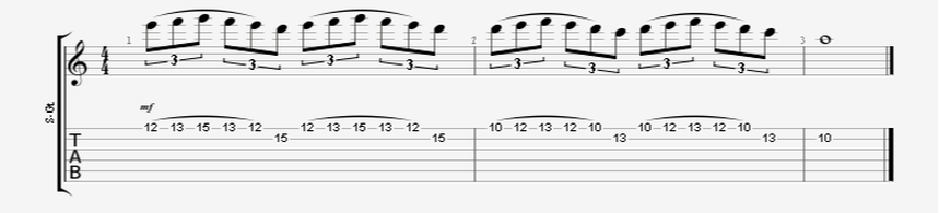 Legato Guitar Exercise Great for Speed Building