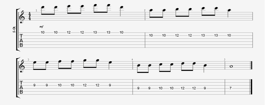 Short Guitar Speed Picking Drill